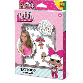 Lol Tattoo Metallic - Ses