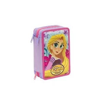 Astuccio  3  Zip  Rapunzel...