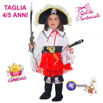 Abito Piccola Pirata 4-5...