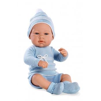 Bebè  Azzurro  42  cm con...