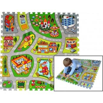 Tappeto Puzzle Città -ITN