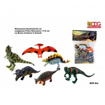 Busta  Dinosauri  Assortiti...
