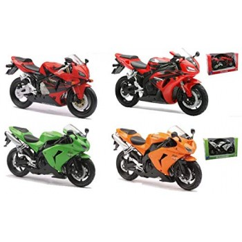 Moto Honda-Kawasaki 1:12...