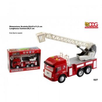 Camion  Pompieri  luci  e...