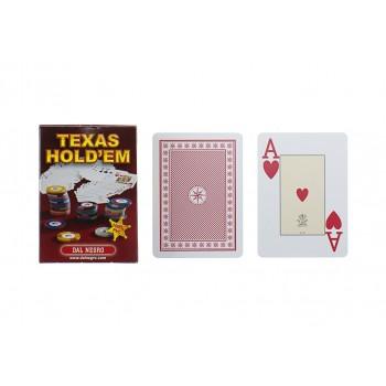 Carte Texas Hold'em Rosso -...