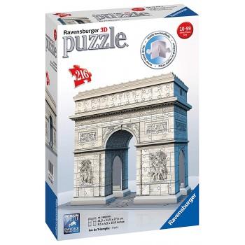 216 pz. Arco di Trionfo 3D...