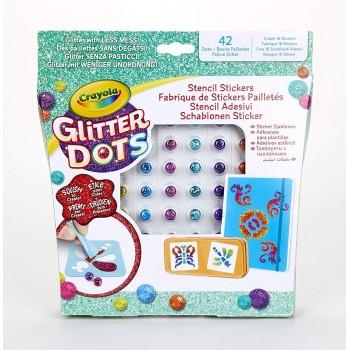 Glitter  Dots  Stencil...