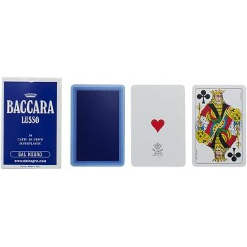 Carte Baccara Lusso Blu -...