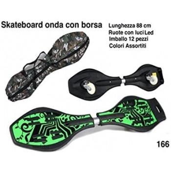 Skateboard Onda con Sacca -...