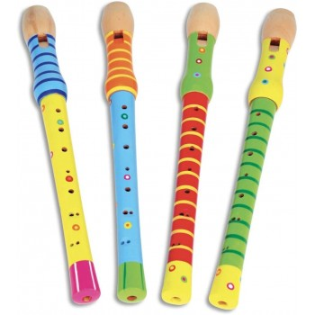 Flauto Dolce in Legno -...