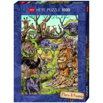 1000 pz Flora e Fauna - Heye