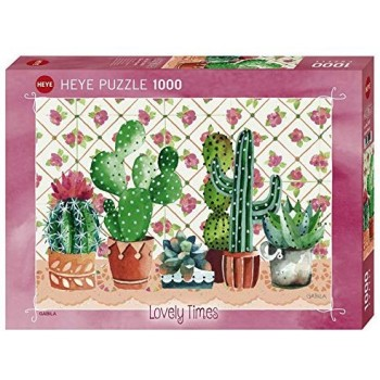 1000 pz. Lovely Time Cactus...