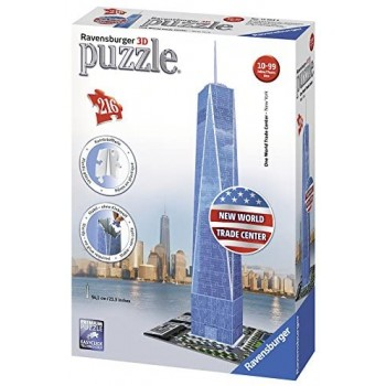 216 pz. Freedom Tower 3D -...