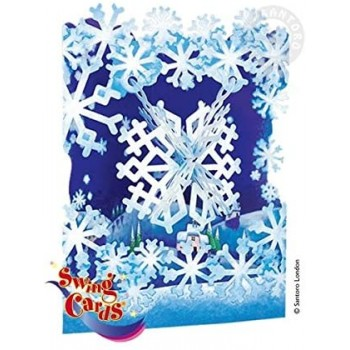 Swing Card Fiocco di Neve -...