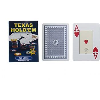 Carte Texas Hold'em Blu -...