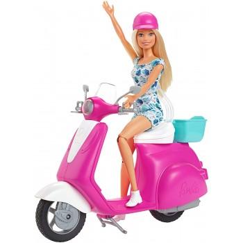 Barbie  Doll  Scooter-  Mattel