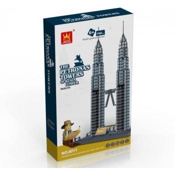 Costruzione Petronas Tower...