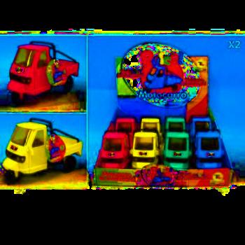 Motocarro Pulce - Toys Garden