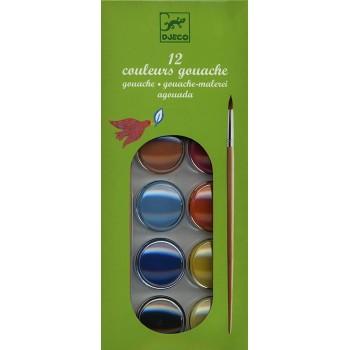 Acquerelli 12 Pastiglie -...