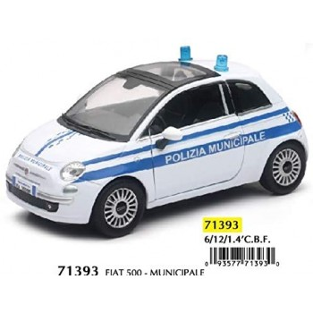 Fiat  500  Polizia  locale...