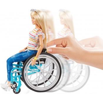 Offerta Barbie con Sedia a Rotelle