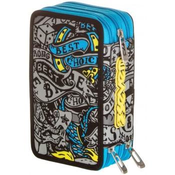 Astuccio 3 Zip Pen Pad Mod....