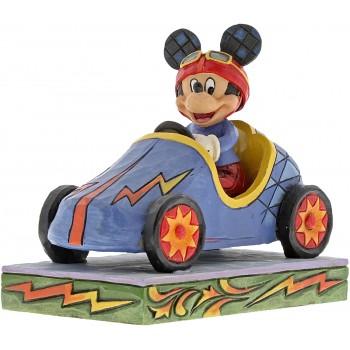Topolino in Auto da Corsa...