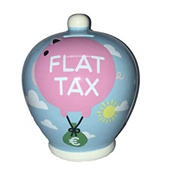 Salvadanaio  Flat  Tax  -...