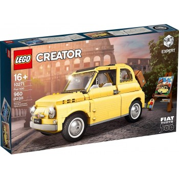 10271  Fiat  500  -  Lego