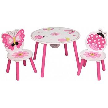 Tavolino Tondo con Sedie -...