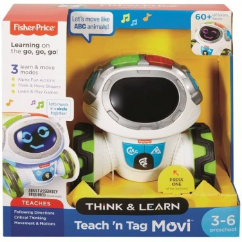 Roby Robot Gioca e Impara -...