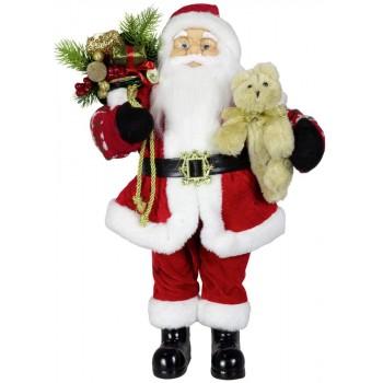 Babbo  Natale  con  Peluche...