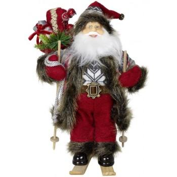 Babbo  Natale  con  Sci  -...