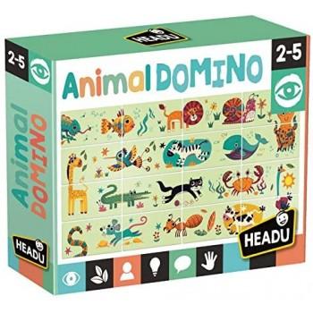 Animal  Domino  -  Headu