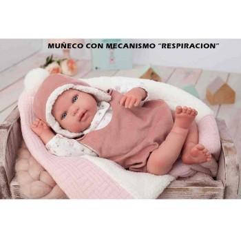 Bambola Reborn Gael Respira...