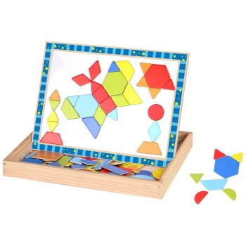 Puzzle  Magnetico  Forme  -...