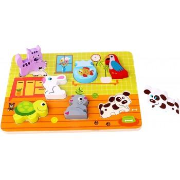 Puzzle  Animali  Cuccioli...