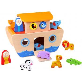 Arca di Noè Legno - Tooky Toy