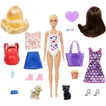 Barbie  color  raveal...