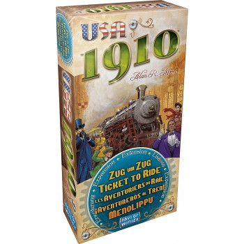 Ticket  to  Ride  Usa  1910...