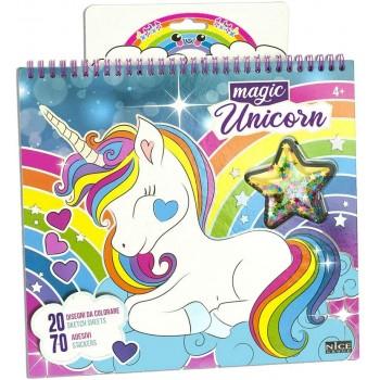 Book  Magic  Unicorn...