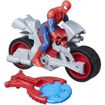 Spiderman  con  Moto  Blast...