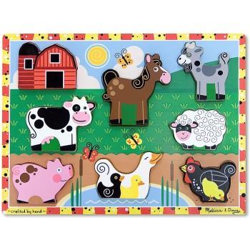 Puzzle Legno Animali...