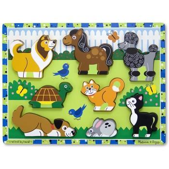 Puzzle Legno Animali da...
