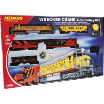 Treno  Merci  Wrecker Crane...