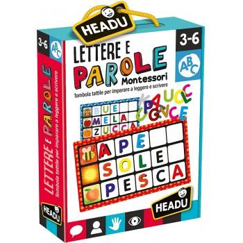 Lettere e Parole Montessori...