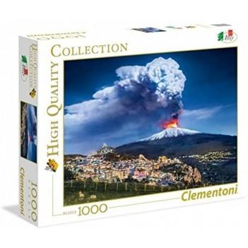 1000  Pz  Etna  -  Clementoni