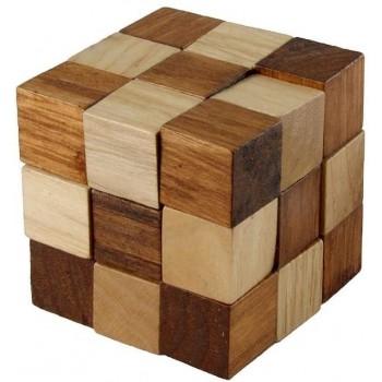 Cube  Snake  in  Legno-...