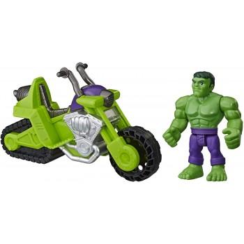Hulk  con  Moto  SuperHero...