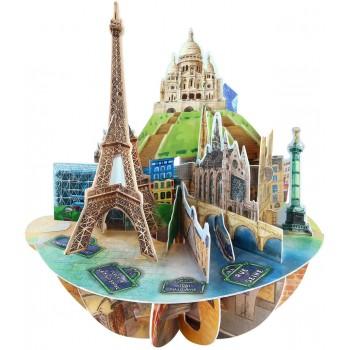 Biglietto  Pop-up  Parigi...